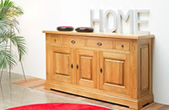 Carnac Solid Oak Sideboard